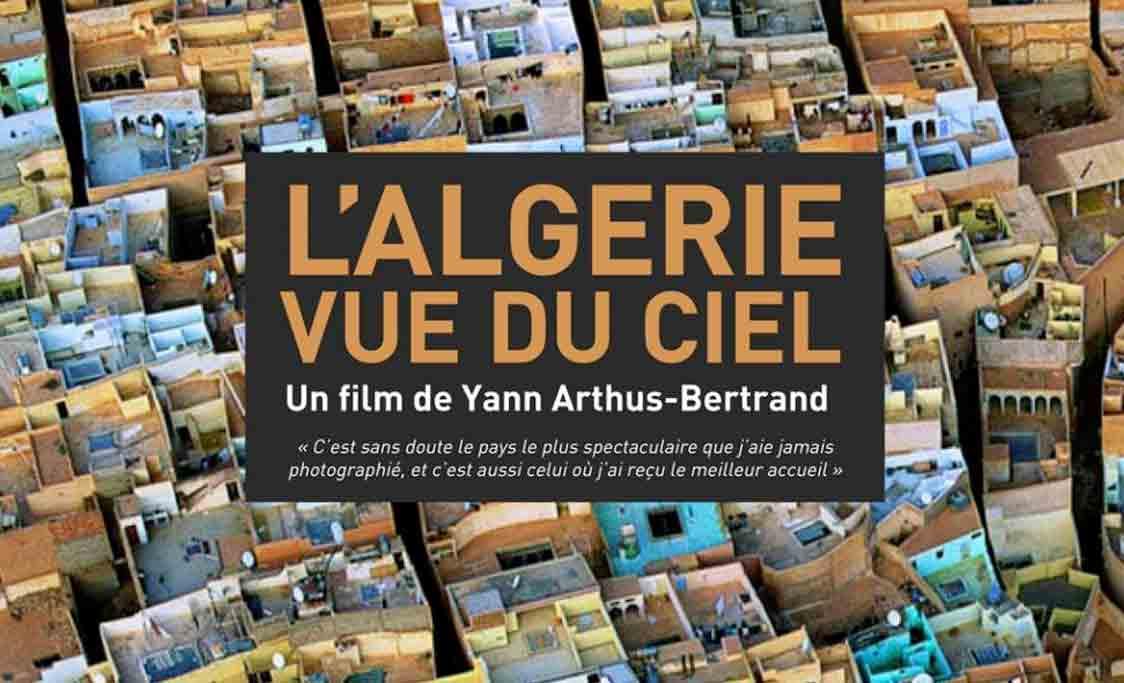 Affiche documentaire L'Algérie vue du ciel