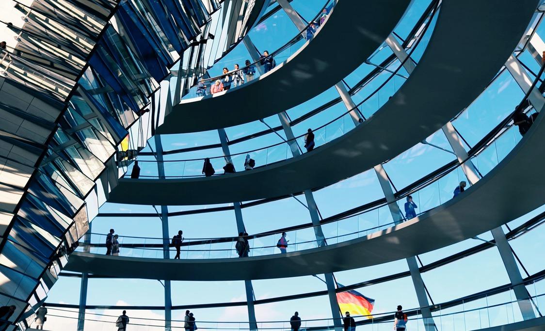 Photographie d'un musée de Berlin