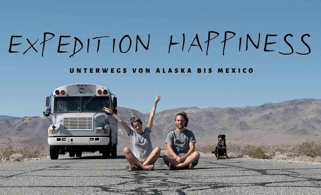 Affiche documentaire Expédition bonheur