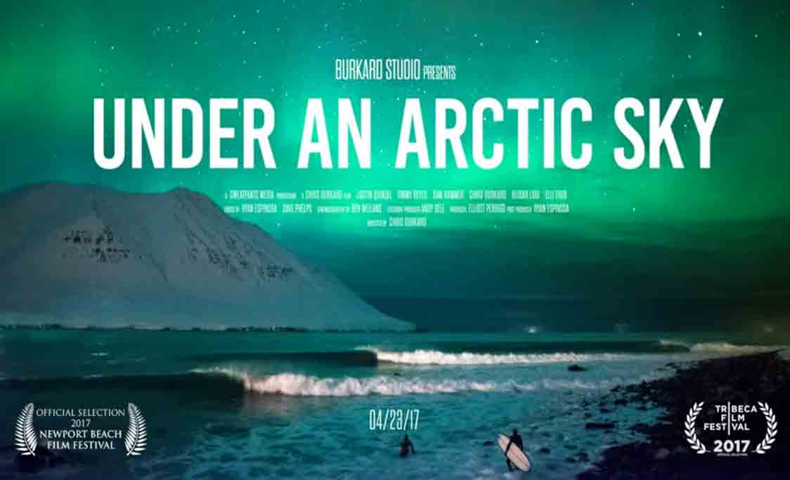 Affiche documentaire Under An Arctic Sky