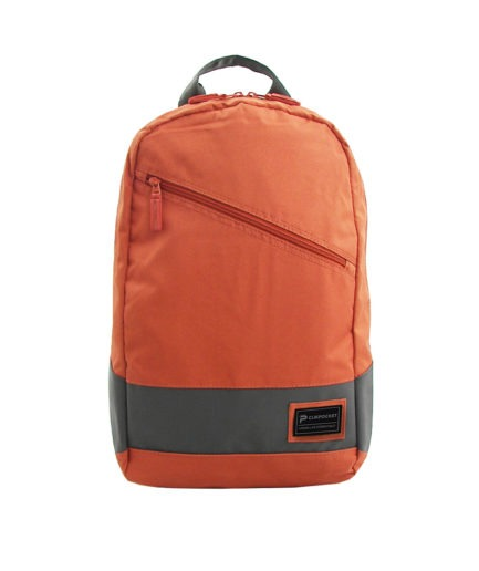 Photo produit sac à dos Clikpocket Downtown World tangerine de face
