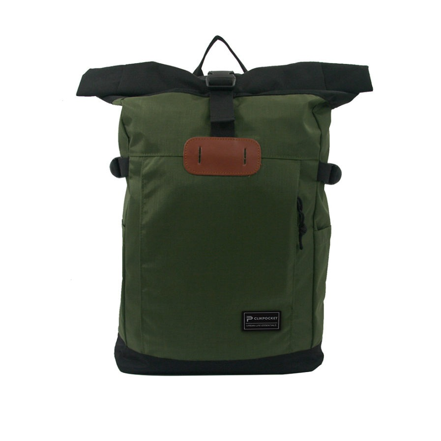 Photo produit sac à dos Clikpocket Nomad vert de face