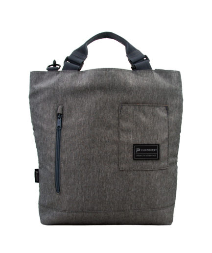 Photo produit sac à main Clikpocket Station Gris de face