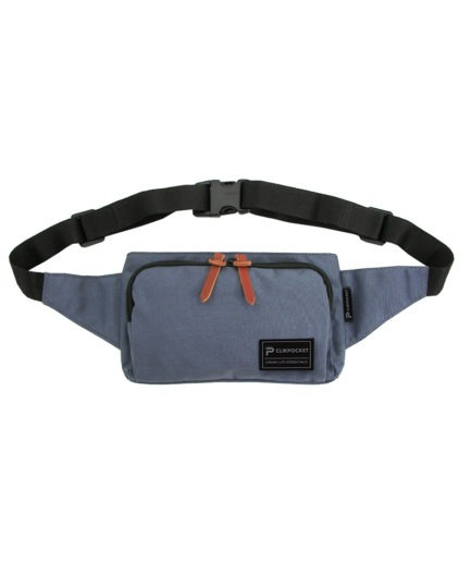 Photo produit sac banane Clikpocket Travel navy de face